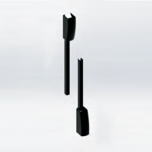 vertical rods and latch bolts  (Unico 550)