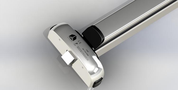 Modulo-push bar acciaio