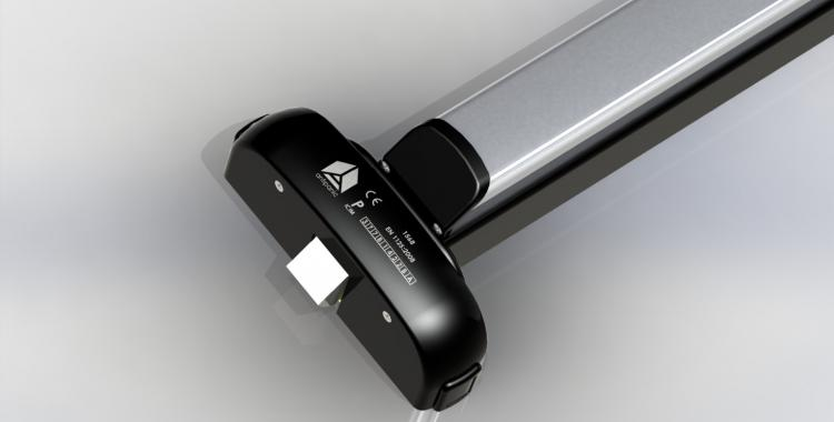 Modulo-push bar nero e grigio