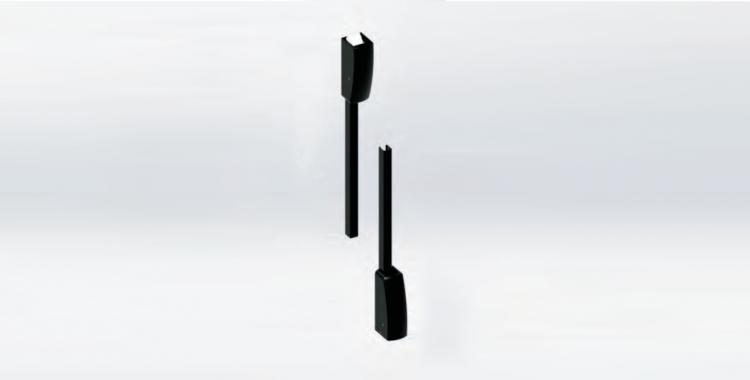 Kit aste e scrocchi alto-basso (Unico)