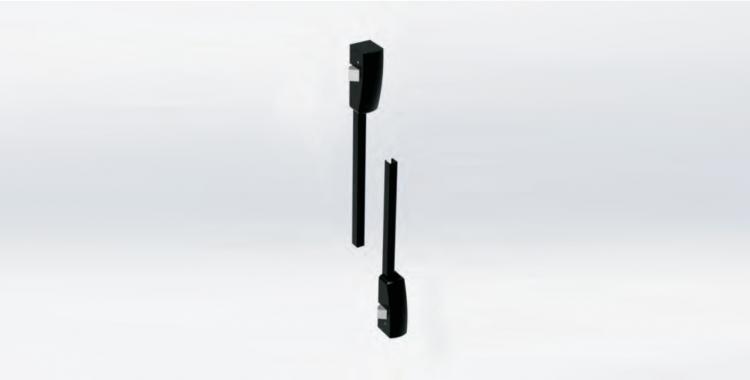 Kit aste e scrocchi laterali (Unico)