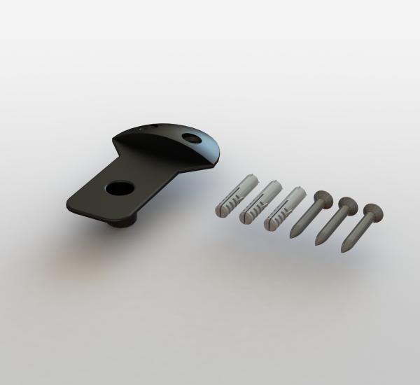 Incontro inferiore per serratura 122